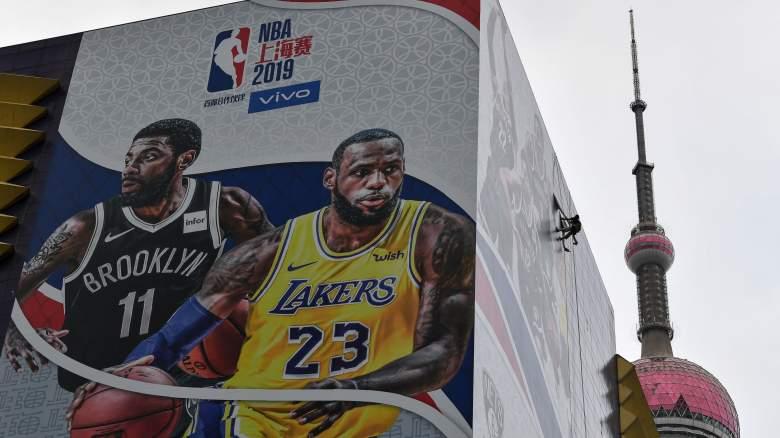 Lakers Nets Preseason