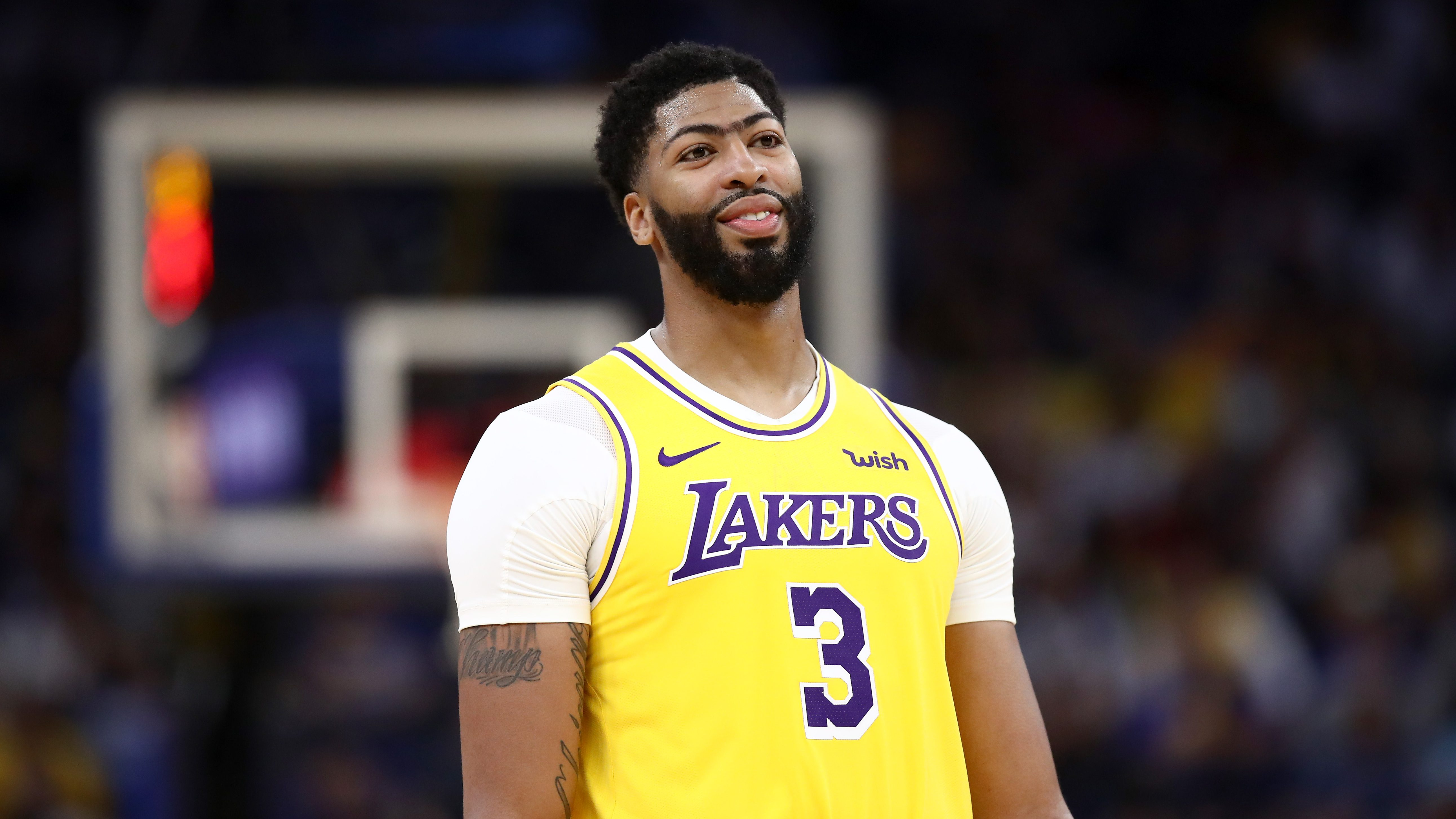 Anthony Davis' Jersey Number: Why Is AD Wearing No. 3? | Heavy.com