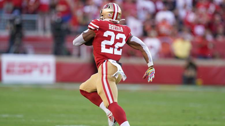 matt breida 49ers contract