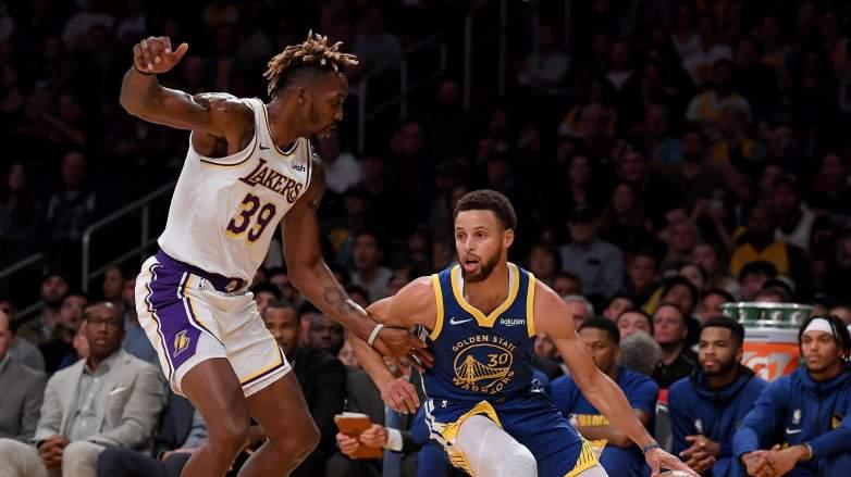 Dwight Howard Lakers vs Warriors