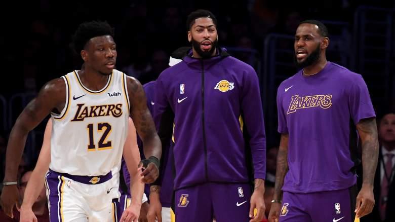 Devontae Cacok Lakers