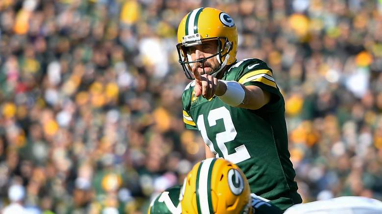 Aaron Rodgers Near-Perfect Record Week 7