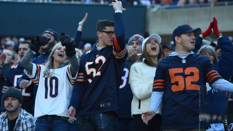 chicago bears fan reaction chargers loss