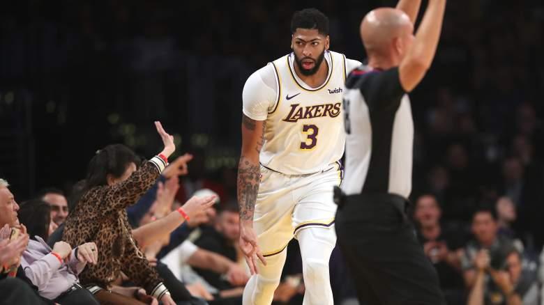 Anthony Davis Lakers Grizzlies