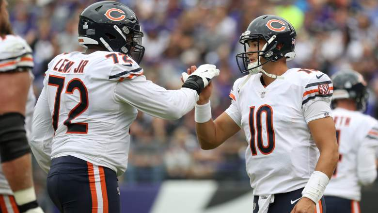 bears eagles betting lines odds