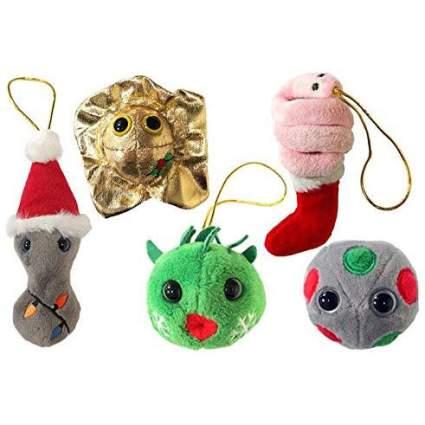 GiantMicrobes STD ornaments