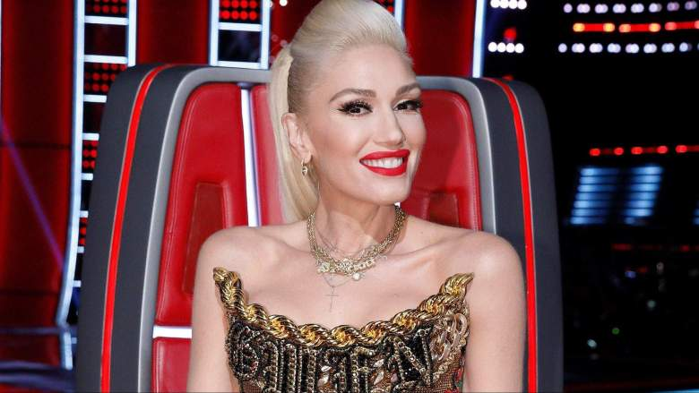 Gwen Stefani judges on the voice
