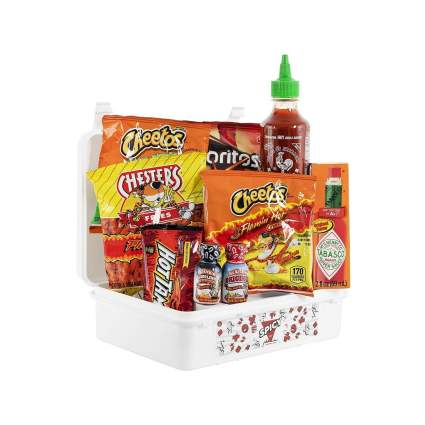 hangry kit spicy challenge gift basket