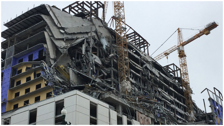 hard rock hotel collapse