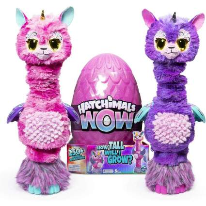Hatchimals WOW Llalacorn toy