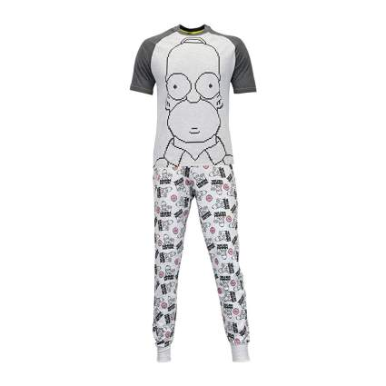 Homer Simpson Virtual Pajamas Set