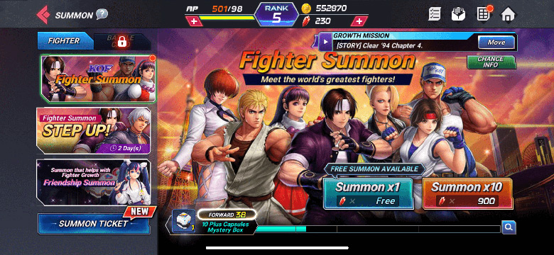 The King of Fighters All Star
