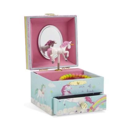 Jewelkeeper Unicorn Rainbow Musical Jewelry Box