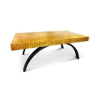 kahl wood decor quilted maple coffee table