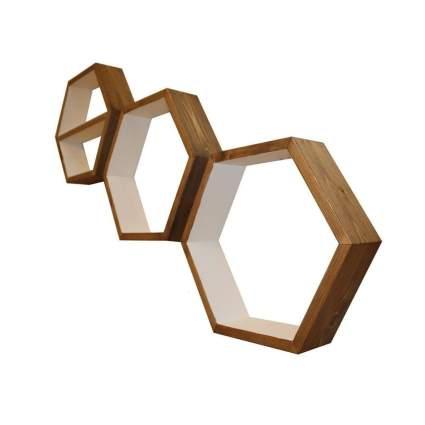 knotty by nature design hexagon shelves