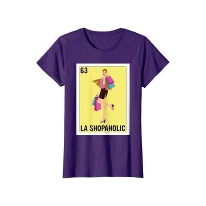 La Shopaholic Mexican Loteria T-Shirt