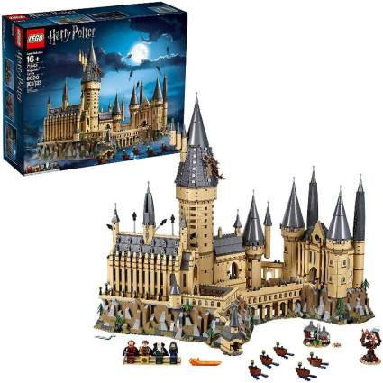 Hogwarts Castle in Lego form