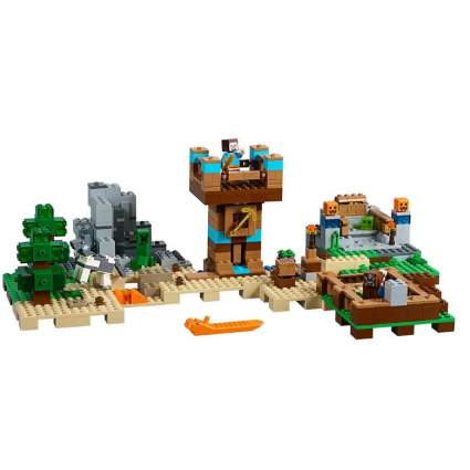 LEGO Minecraft Crafting Box building kit