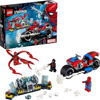 Spider-Man Rescue Bike building kit