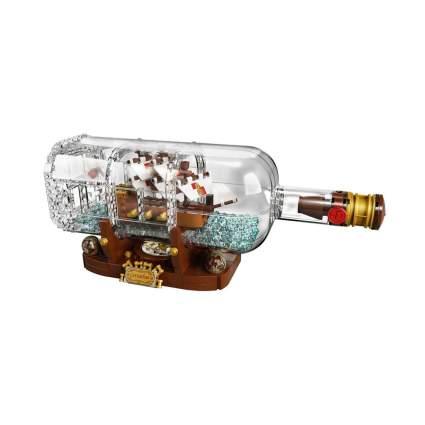 lego ship in a bottle kit