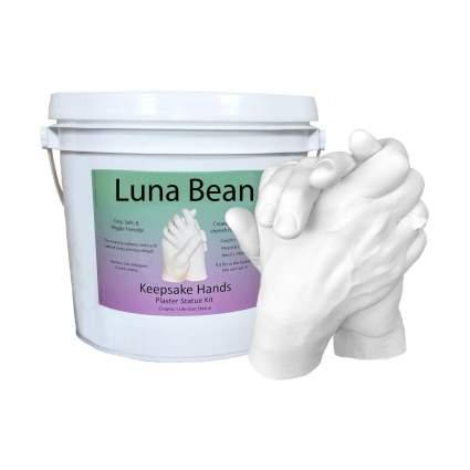 Luna Bean LARGE Keepsake Hands Casting Kit