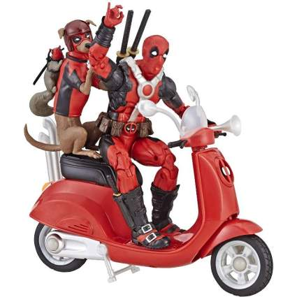 Deadpool Scooter playset