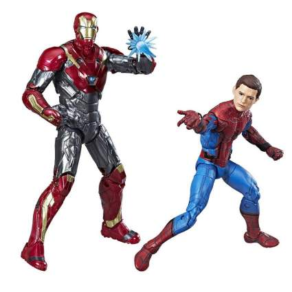 Marvel Legends Iron Man and Spider-Man Two Pack