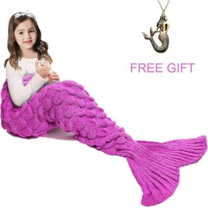 Mermaid Tail Blanket