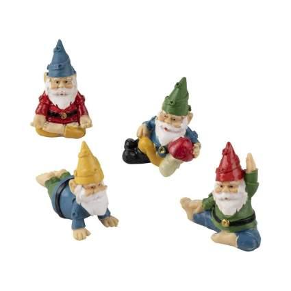 Mini Yoga Gnome Figurines