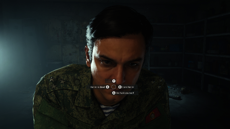 Modern Warfare Got Something on Your Face