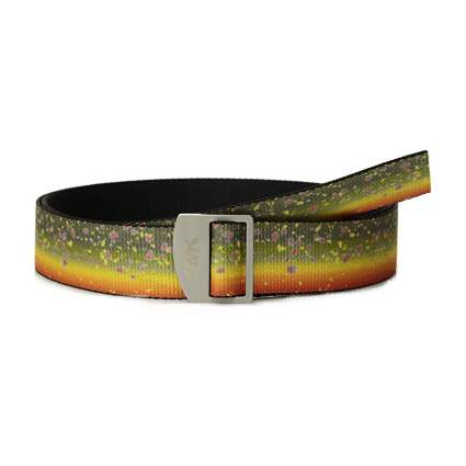 mountain khaki trout belt