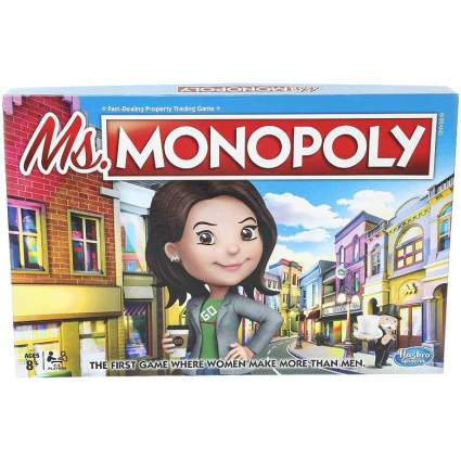 Ms Monopoly board game