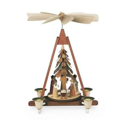 muller nativity german christmas pyramid