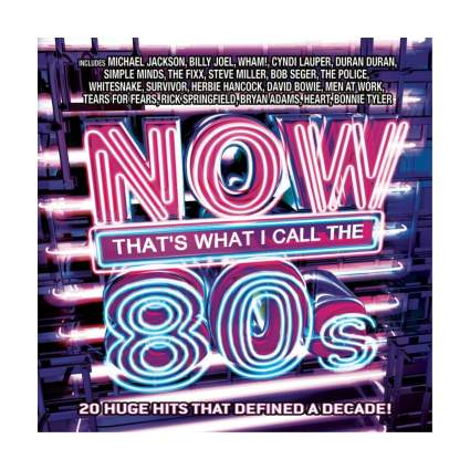now that's what I call the 80s cd