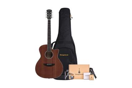 orangewood rey mahogany acoustic guitar for beginners