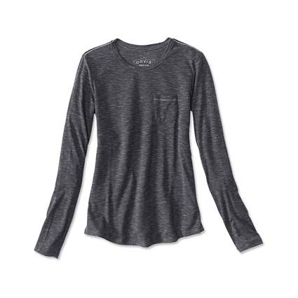 Orvis Women's Tencel Drirlease Long-Sleeved Pocket Tee