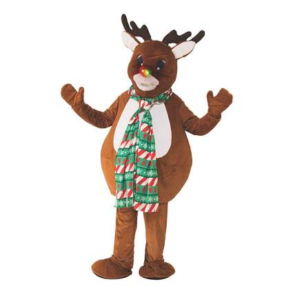 Oversized Reindeer Costume for Adults