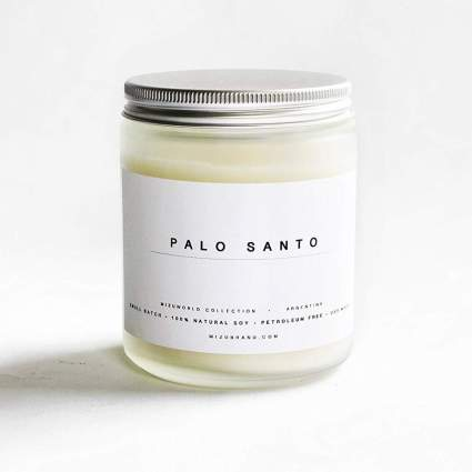 Palo Santo Essential Oil Soy Candle