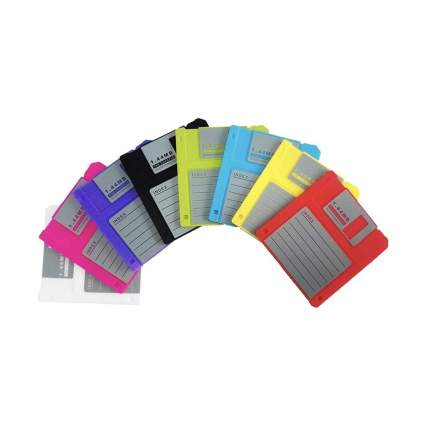 PHT silicone floppy disk coasters