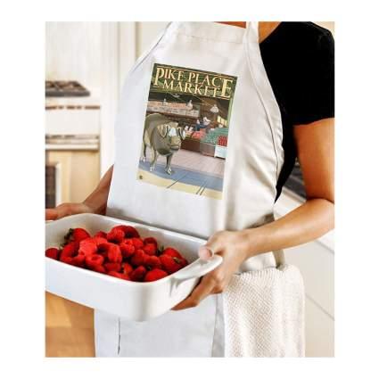pike place market apron