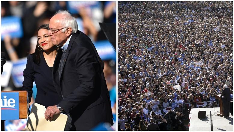 Bernie Sanders New York Rally