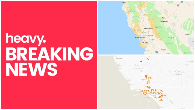 Pg E Sce Power Outage Shutoff Map Times Counties Heavy Com