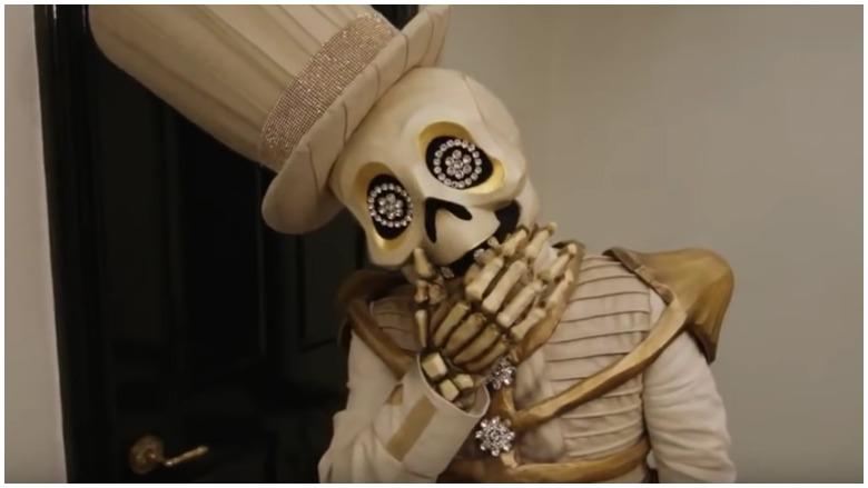 Skeleton on the masked singer