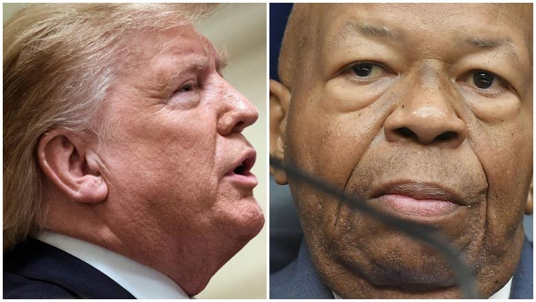 Donald Trump on Elijah Cummings