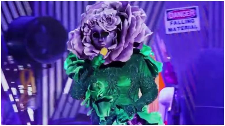 Flower on 'The Masked Singer'