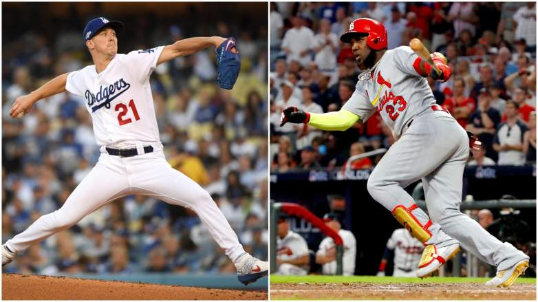 The Dodgers and Cardinals notched Game 1 wins in their NLDS Series on Thursday.