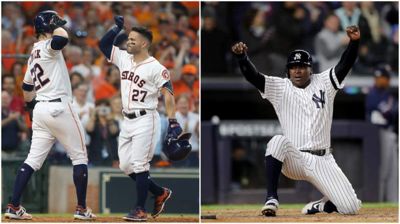 The Astros and Yankees cruised to ALDS-opening wins on Friday.