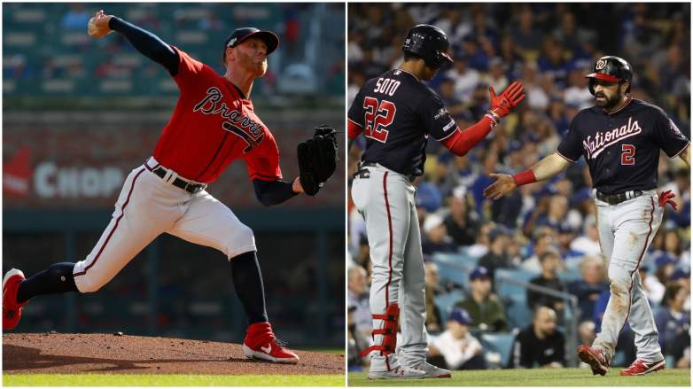 The Braves and the Nationals responded with their backs to the wall to tie up their respective series on Friday.
