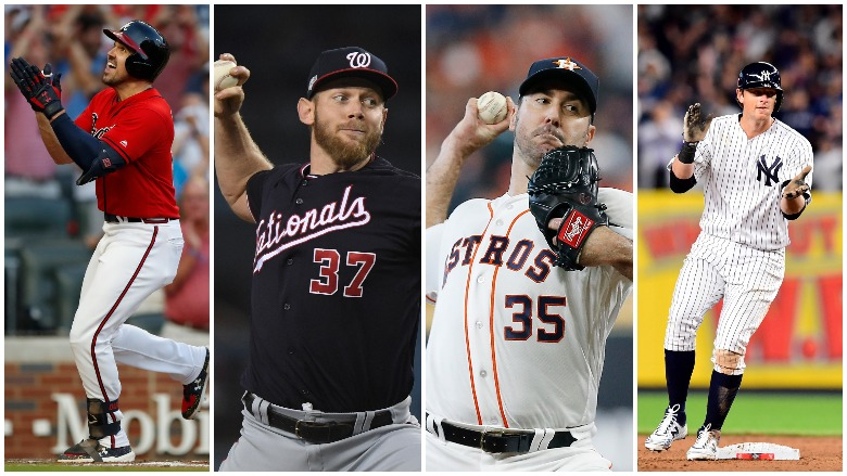 It was a full slate of high drama on Friday as all four Division Series' match-ups were in action.