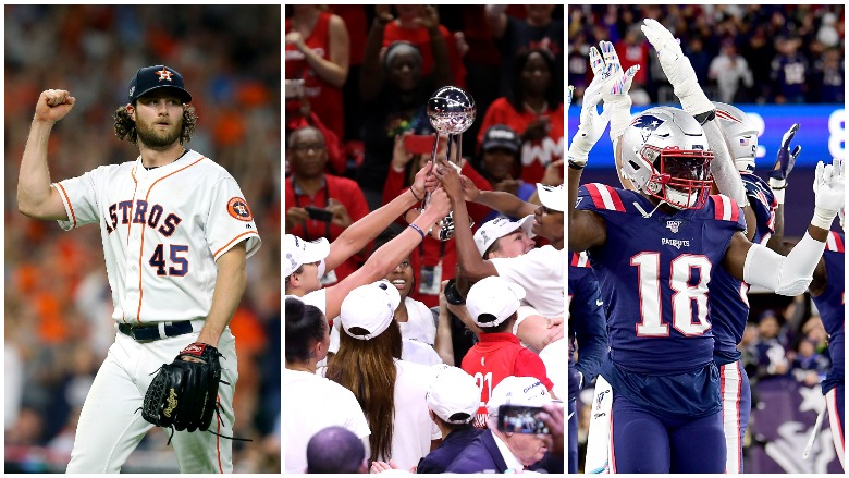 The Astros beat the Rays in Game 5, the Mystics won the WNBA title and the Patriots took down the Giants.
